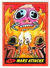 2012 Topps Heritage MARS ATTACKS 50th Jeremy Scott Sketch Card Flame Throwers