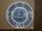 1 Dinner Plate Blue Fair Winds Alfred Meakin Staffordshire England ~1DP