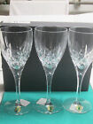Waterford Lismore Contemporary fine Irish crystal 1-box of 3-goblets new