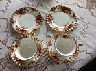 Royal Albert Old Country Rose teacups, saucer and side plates. Set of 2