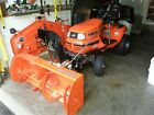 kubota lawn tractor G2460 with Snowblower attachment Excellent Condition