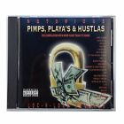 NOTORIOUS: PIMPS, PLAYA'S & HUSTLAS - Various Artists [PA] Rap/Hip-hop CD