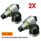 Heavy Duty Waterproof Car Boat Horn Engine Start Momentary Switch Push Button US