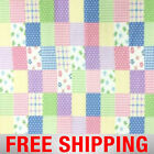 Fleece Fabric Plaid Patchwork 60 Wide Free Shipping Style PT 568