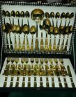 51 Piece LBL Plated Cutlery Set A800 EP Zing-12 Setting-Italy