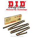 Beta RR 50 Motard Alu 2005 DID Racing Chain Gold 420 NZ3 132 Links + Spring Link
