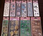 Harry Potter All Night Media Warner Bros Stickers Choice Hermione House Crests +