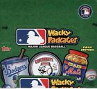 2016 TOPPS WACKY PACKAGES MLB STICKERS *SEALED HOBBY BOX* - IN STOCK! 24pack Box