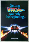 BACK TO THE FUTURE II ORIGINAL ADVANCE 1 SHEET MOVIE POSTER; Rolled; D S; 27x40