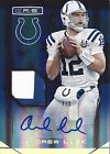 **2014 Panini Rookies and Stars ANDREW LUCK Auto Patch #'d 4 5 SSP SP Insert**