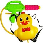 Water Gun Backpack Duck Squirt Pool Toy Soaker Beach Ducky Blaster LOT OF 10X