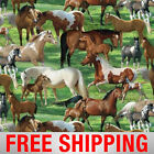 Fleece Fabric Horse Style 3033 60 Wide Free Shipping