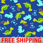 Fleece Fabric Dinosaurs 60 Wide Style 35979 Free Shipping