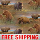 Fleece Fabric Grizzly Bear Style BB 2024 60 Wide Free Shipping