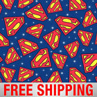 Fleece Fabric Superman Logo 60 Wide Style BB 3071 Free Shipping