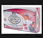 2014 Topps Pro Debut Baseball Hobby Box With2 Auto &2 PACH Card Per Box Fact Se
