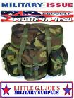 NEW US Military Issue Woodland Camo Alice Pack Backpack Without Straps Rucksack