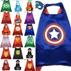 TUT Superhero Cape 1 cape+1 mask for kids birthday party favors and ideas2018
