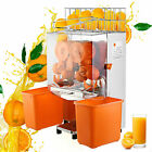 COMMERCIAL ORANGE JUICER SQUEEZER JUICE EXTRACTOR 120W AUTO FEED FRUIT BRAND NEW
