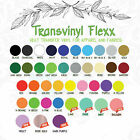 Heat Transfer Vinyl Material T Shirts cutter IRON ON 15 NEW Colors Soft Stretch