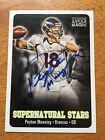 2012 PEYTON MANNING TOPPS MAGIC AUTO COLTS BRONCOS