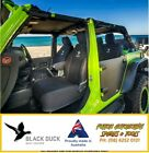 BLACK DUCK Denim Front Bucket Seat Covers for Jeep Wrangler JK 2013+