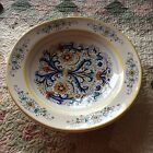 Deruta, Italy Large Round Serving Bowl Ricco Pattern