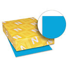 Neenah Paper Astrobrights Colored Card Stock 65 lb 8 1 2 x 11 Celestial Blue