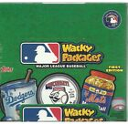 2016 Topps MLB Wacky Packages Stickers**New 160ct. Retail Box**SPECIAL INSERTS**