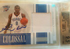 2009-10 Panini National Treasures Russell Westbrook Autograph Jeresy BGS 9.5 SP