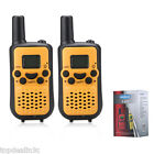 5KM Long Range 22 Channel 38 CTCSS Twin Walkie Talkie 2-Way Radio Interphone US