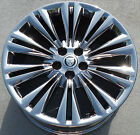 19 JAGUAR XF XK XJ FACTORY OEM CARAVELA CHROME WHEEL RIM FRONT 59853