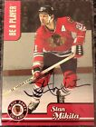 1999-2000 99-00 BE A PLAYER BAP STAN MIKITA AUTO #R5 AUTOGRAPH CHICAGO BLACKHAWK