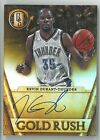 14-15 Gold standard Kevin Durant Auto card on card auto 37 50