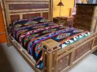 25 Camp Blanket Wholesale Western 70x85 Reversible Native Throw Design Bright