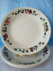 Set of 4 Corelle Garden Home  Bread and Butter Plates 6 3/4