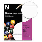 Neenah Paper Bright White Card Stock 65 lbs 8 1 2 x 11 Bright White 250 Sheets