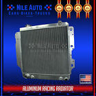 3 ROW RACING FULL ALUMINUM RADIATOR FOR 87 06 JEEP WRANGLER YJ TJ 24L 42L