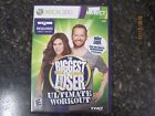Biggest Loser Ultimate Workout Microsoft Xbox 360 2010 complete