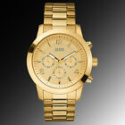 U15061G2 -GUESS Watch, Men's Chronograph Gold-Tone Stainless Steel 45mm RRP $150