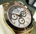 Rolex Cosmograph Daytona 116508 Mens Yellow Gold White Index Dial Watch 40mm