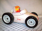 Rare Coca-Cola Race Car Cookie Jar 2002 Sakura Earthenware