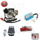 GY6 Carburetor 50cc Scooter Roketa Sunl JCL Taotao Baja 18mm CDI Air Filter Plug