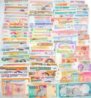100 Different world paper money collection UNC genuine banknotes High Quality