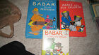 3 BABAR BOOKS professor children loses his crown FIVE IN A ROW TAPESTRY OF GRACE