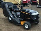 POULAN PRO TRACTOR RIDE MOWER 42 DECK 18HP W TWIN BAG READY TO USE