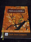 Chalkdust Prealgebra Student Book and Solutions Book 3rd edition 2005 1 yr use