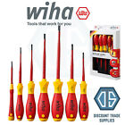 Wiha 41156 SlimFix 7 Piece VDE 1000v Slot/Pozi Screwdriver Set - NEW Pico