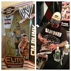 AUTOGRAPHED CM PUNK ELITE SERIES 16 FIGURE BEST IN THE WORLD