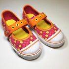 Umi Halina Canvas Mary jane Pink Yellow Orange Sneaker for Toddlers